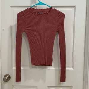 fitted sweater top